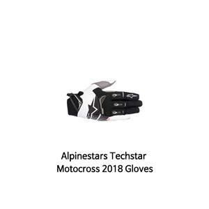 알파인스타 장갑 Alpinestars Techstar Motocross 2018 Gloves (Black/White/Grey)