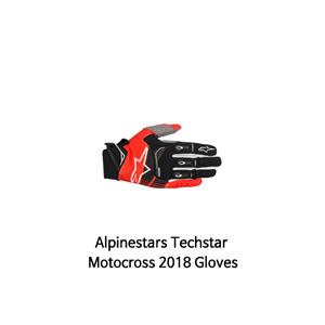 알파인스타 장갑 Alpinestars Techstar Motocross 2018 Gloves (Black/Red)