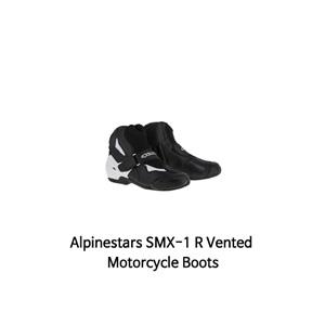 알파인스타 부츠 Alpinestars SMX-1 R Vented Motorcycle Boots (Black/White)