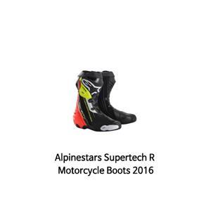 알파인스타 부츠 Alpinestars Supertech R Motorcycle Boots 2016 (Black/Red/Yellow)