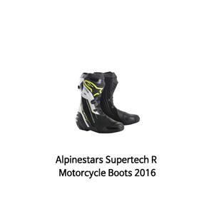 알파인스타 부츠 Alpinestars Supertech R Motorcycle Boots 2016 (Black/Yellow)