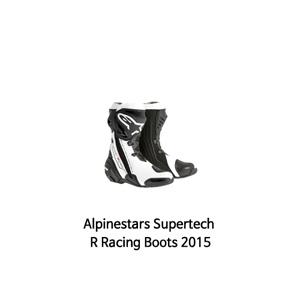 알파인스타 부츠 Alpinestars Supertech R Racing Boots 2015 (Black/White)