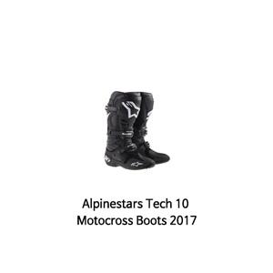 알파인스타 부츠 Alpinestars Tech 10 Motocross Boots 2017 (Black)