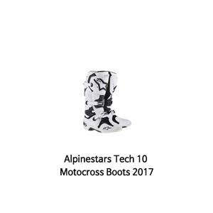 알파인스타 부츠 Alpinestars Tech 10 Motocross Boots 2017 (White)
