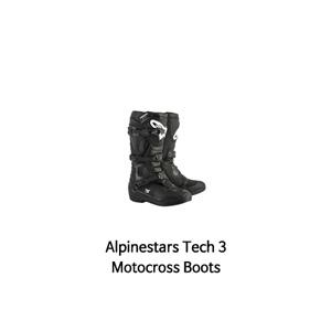 알파인스타 부츠 Alpinestars Tech 3 Motocross Boots (Black)