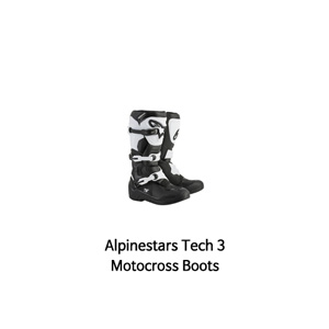 알파인스타 부츠 Alpinestars Tech 3 Motocross Boots (Black/White)