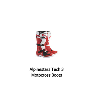알파인스타 부츠 Alpinestars Tech 3 Motocross Boots (Red/White)