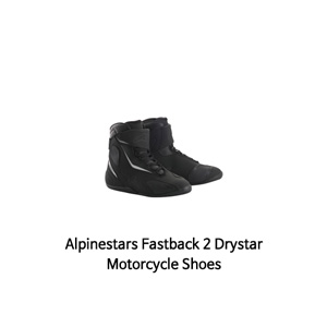 알파인스타 신발 Alpinestars Fastback 2 Drystar Motorcycle Shoes (Black)