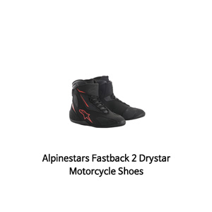 알파인스타 신발 Alpinestars Fastback 2 Drystar Motorcycle Shoes (Black/Red)
