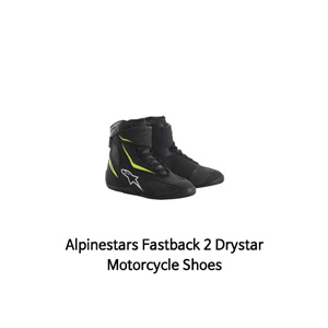 알파인스타 신발 Alpinestars Fastback 2 Drystar Motorcycle Shoes (Black/Yellow)