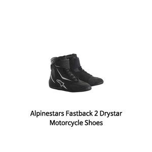 알파인스타 신발 Alpinestars Fastback 2 Drystar Motorcycle Shoes (Black/White)