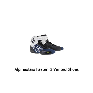 알파인스타 신발 Alpinestars Faster-2 Vented (Black/Blue/White)