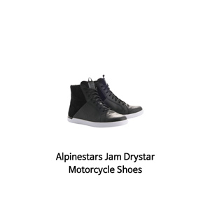 알파인스타 신발 Alpinestars Jam Drystar Motorcycle Shoes (Black)