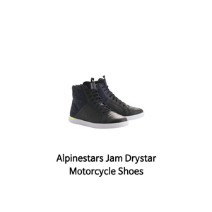 알파인스타 신발 Alpinestars Jam Drystar Motorcycle Shoes (Black/Yellow)