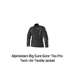 알파인스타 자켓 Alpinestars Big Sure Gore-Tex Pro Tech-Air Textile Jacket (Black)