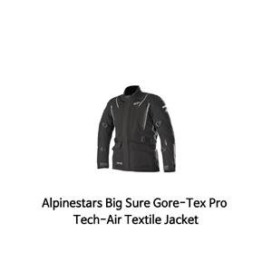 알파인스타 자켓 Alpinestars Big Sure Gore-Tex Pro Tech-Air Textile Jacket (Black)
