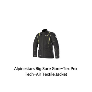 알파인스타 자켓 Alpinestars Big Sure Gore-Tex Pro Tech-Air Textile Jacket (Black/Yellow)