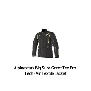 알파인스타 자켓 Alpinestars Big Sure Gore-Tex Pro Tech-Air Textile Jacket (Black/Yellow)