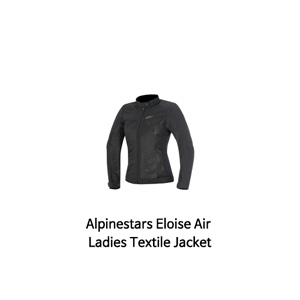 알파인스타 자켓 Alpinestars Eloise Air Ladies Textile Jacket (Black)