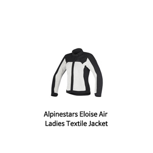 알파인스타 자켓 Alpinestars Eloise Air Ladies Textile Jacket (Black/Light Grey)
