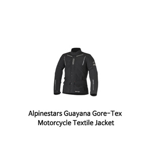 알파인스타 자켓 Alpinestars Guayana Gore-Tex Motorcycle Textile Jacket (Black)