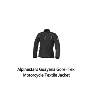 알파인스타 자켓 Alpinestars Guayana Gore-Tex Motorcycle Textile Jacket (Black/Red)
