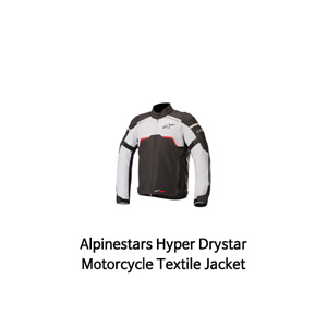 알파인스타 자켓 Alpinestars Hyper Drystar Motorcycle Textile Jacket (Black/Grey)