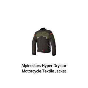 알파인스타 자켓 Alpinestars Hyper Drystar Motorcycle Textile Jacket (Black/Green)