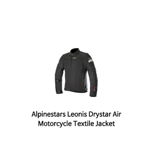 알파인스타 자켓 Alpinestars Leonis Drystar Air Motorcycle Textile Jacket (Black)