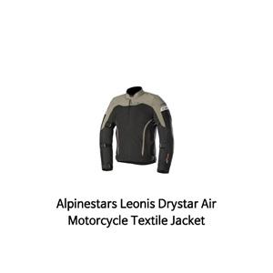 알파인스타 자켓 Alpinestars Leonis Drystar Air Motorcycle Textile Jacket (Black/Oilve)