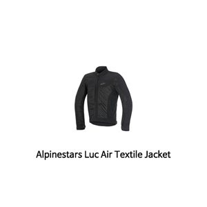 알파인스타 자켓 Alpinestars Luc Air Textile Jacket (Black)