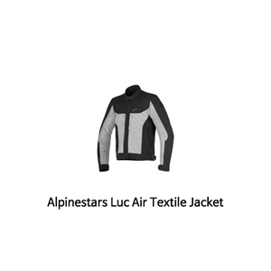 알파인스타 자켓 Alpinestars Luc Air Textile Jacket (Black/Grey)