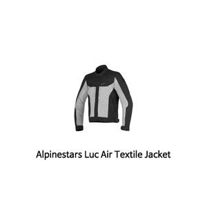 알파인스타 자켓 Alpinestars Luc Air Textile Jacket (Black/Grey)