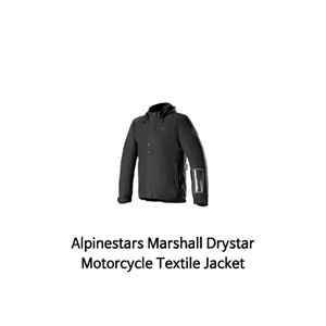 알파인스타 자켓 Alpinestars Marshall Drystar Motorcycle Textile Jacket (Black)