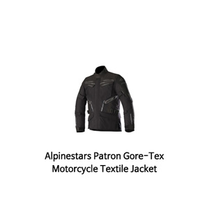 알파인스타 자켓 Alpinestars Patron Gore-Tex Motorcycle Textile Jacket (Black)