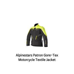알파인스타 자켓 Alpinestars Patron Gore-Tex Motorcycle Textile Jacket (Black/Yellow)