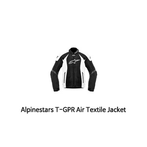 알파인스타 자켓 Alpinestars T-GPR Air Textile Jacket (Black/White)
