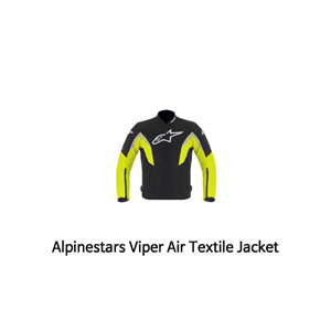 알파인스타 자켓 Alpinestars Viper Air Textile Jacket (Black/Yellow)