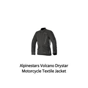 알파인스타 자켓 Alpinestars Volcano Drystar Motorcycle Textile Jacket (Black)