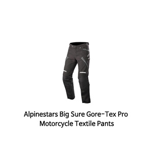 알파인스타 바지 Alpinestars Big Sure Gore-Tex Pro Motorcycle Textile Pants (Black)