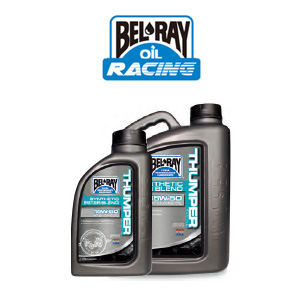 <b>BEL-RAY [벨레이 엔진오일]</b>Thumper Racing Synthetic Ester Blend 4T Engine Oil/10W40/1L