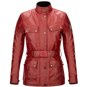 벨스타프 자켓, 여성자켓 Belstaff Classic Tourist Trophy Ladies Wax Jacket (Red) - 여성용