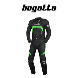 [보구토 오토바이 슈트 용품]Bogotto Assen 2 PC (Black/Green)