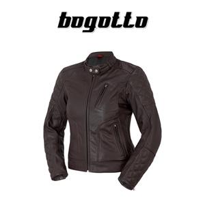 [보구토 오토바이 자켓 용품]Bogotto Chicago Lady (Brown) - 여성용