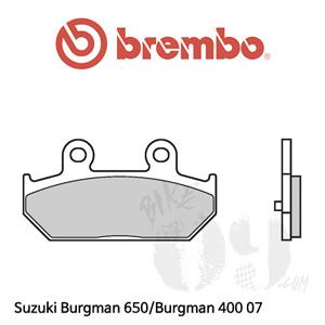 Suzuki Burgman 650/Burgman 400 07 브레이크 패드 브렘보 리어