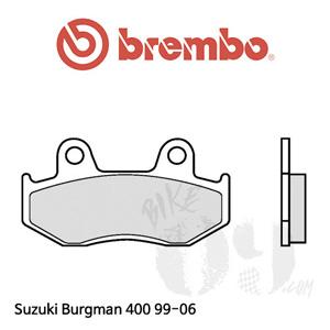 Suzuki Burgman 400 99-06 브레이크 패드 브렘보 신터드 프론트 리어 공용