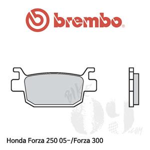 Honda Forza 250 05-/Forza 300 브레이크 패드 브렘보 신터드 리어