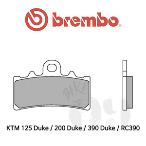 KTM 125 Duke / 200 Duke / 390 Duke / RC390 프론트용 브레이크 패드 브렘보