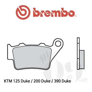 KTM 125 Duke / 200 Duke / 390 Duke 리어용 브레이크 패드 브렘보 로드