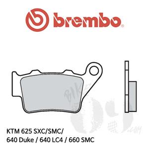 KTM 625 SXC/SMC/ 640 Duke / 640 LC4 / 660 SMC 리어용 브레이크 패드 브렘보 로드